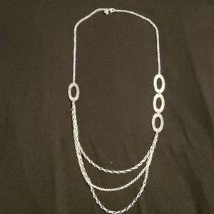 Silpada Silver 3 Tier Necklace